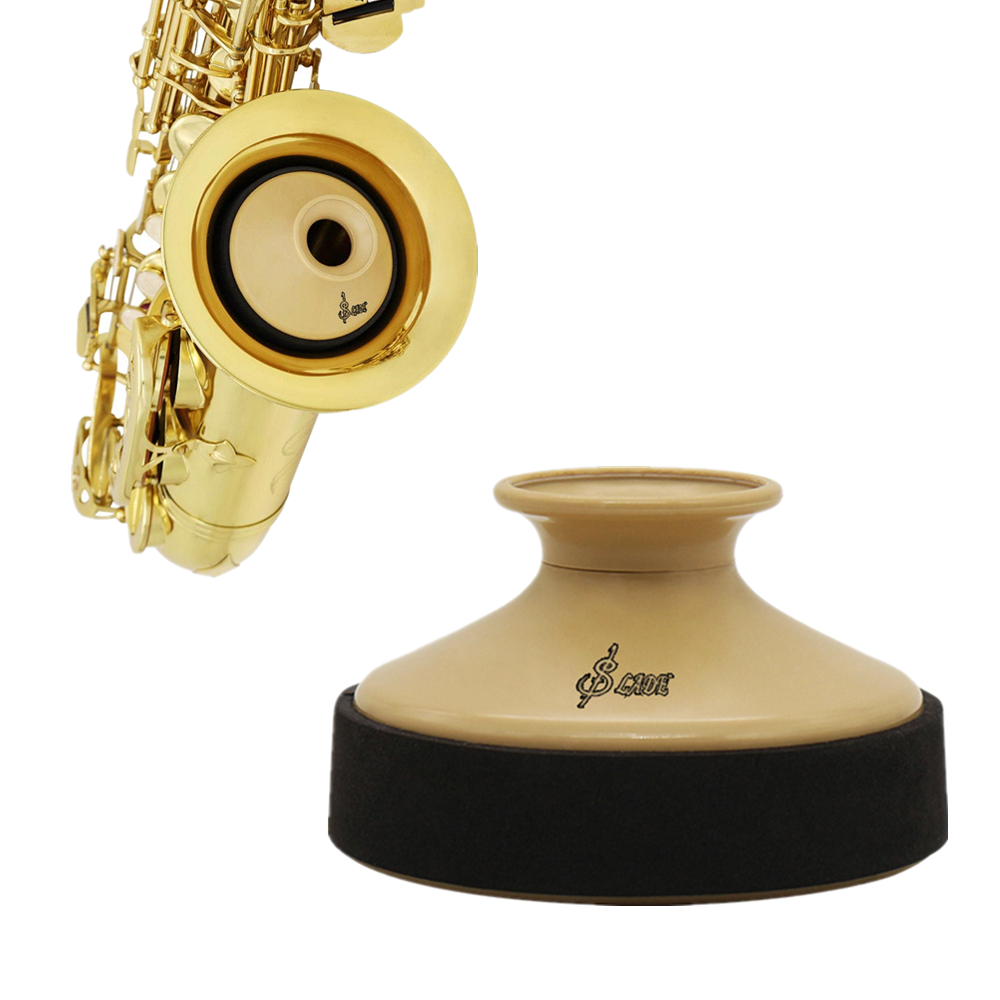 SLADE Professional High Quality Alto Saxophone Mute ABS Sax Dampener Silencer