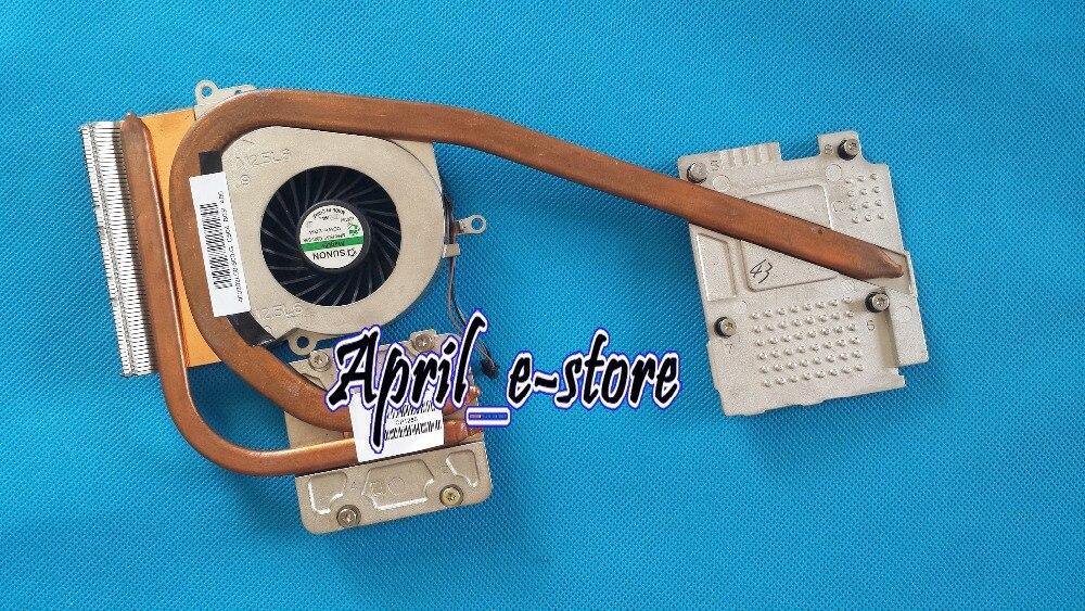 D'origine pour HP EliteBook 8560 W 8570 W CPU Ventilateur Du Radiateur KIT GRAPHIQUE NVIDIA Q3 P/N 690630-001