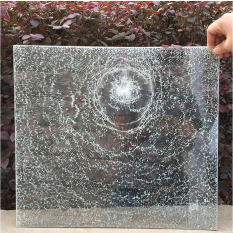 152 см * 1000 8 мил Защитная стеклянная оконная пленка небьющаяся пуленепробиваемая