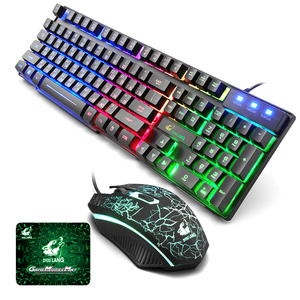 Gaming Keyboard and Mouse Mous