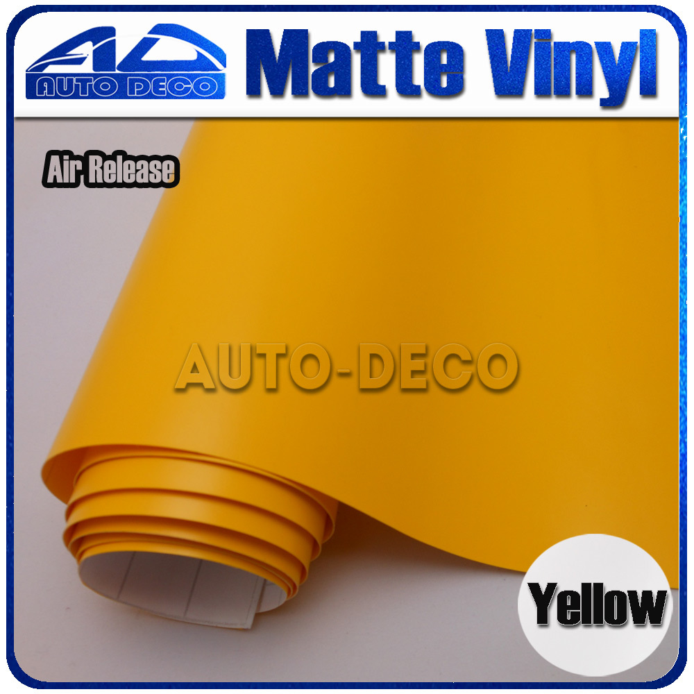Quality Guarantee Yellow Matte Vinyl Wrap Film Foil Car Sticker With Air Bubble Free FedEx Free Shipping size:1.52*30m/roll light purple matte vinyl car wrap film for car decoration sticker with air bubble free fedex free shipping