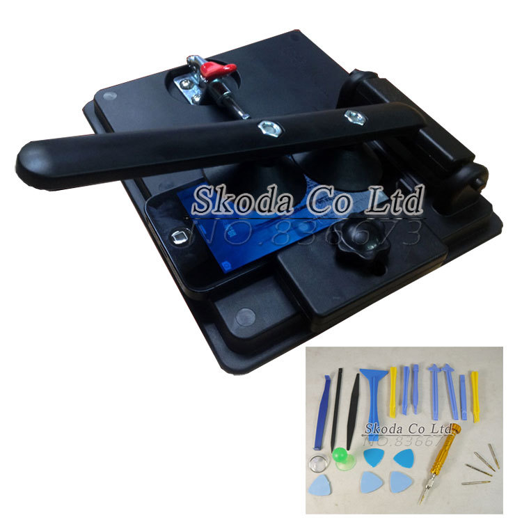 все цены на Free shipping LCD screen special Removal tool+18pcs Phone Opening tool Disassemble Tools for Iphone6 LCD Touch Screen Separation онлайн