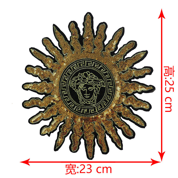 Bead Embroidery Size Cloth Clothing Accessories Clothing Bag Applique Sequin Patch Spot Wholesale