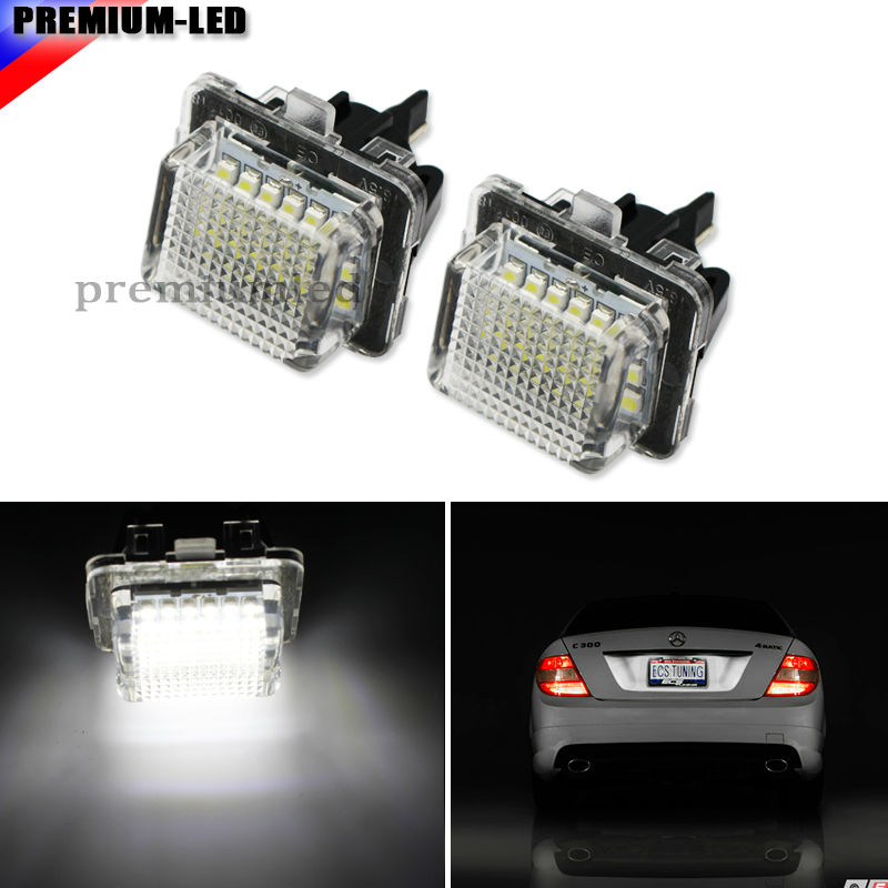 OEM-Replace 18-SMD Full LED Side Door Courtesy Lights Assy For Lexus or Toyota