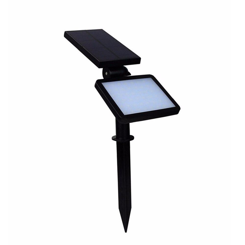Super Bright 960Lumens LED napelemes lámpa vízálló árvíz fény 48LED utcai fény kültéri út fal lámpa biztonsági spot világítás