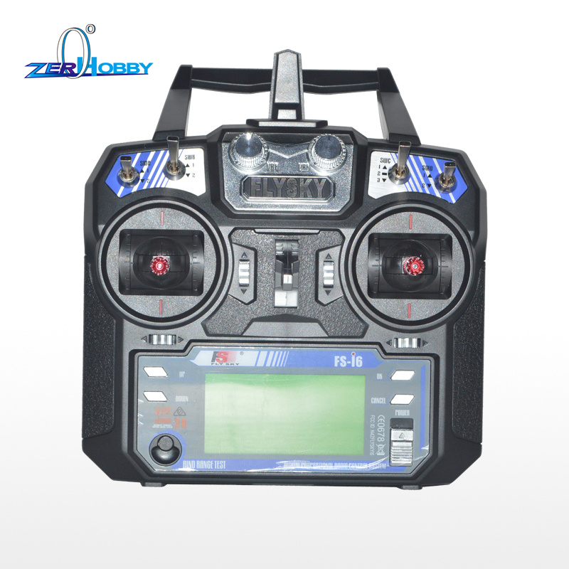 Flysky FS-i6 AFHDS 2.4GHz 6CH Radio 6 Channel Transmitter + FS-iA6 Receiver for RC Airplane niorfnio portable 0 6w fm transmitter mp3 broadcast radio transmitter for car meeting tour guide y4409b