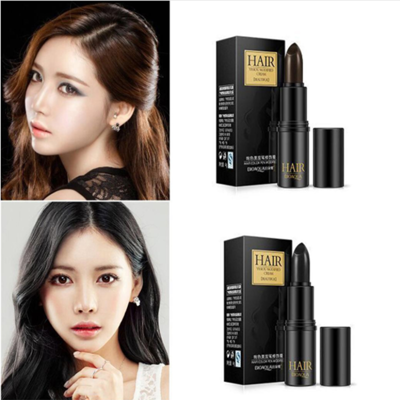 New Temporary Hair Dye Hair Color Stick Hair Coloring Cream Products To Conceal The Gray Root Cover Up Black Dark/Medium Brown