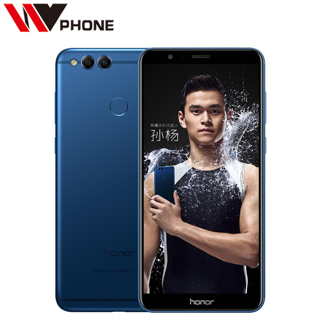 Huawei Honor 7X 4G 32G Mobile Phone Octa Core Dual Rear Camera 3340mAh 5.93 inch 2160*1080P Fingerprint