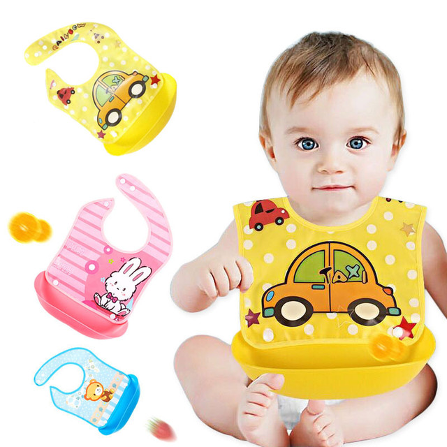 Waterproof EVE Baby Bibs with Detachable Pocket for Newborn Toddler Scarf Baby Boys and Girls Infant Feeding Burp Cloth Stuff