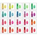 20 Colors/set 7 ml Fluorescent Luminous Nail Polish Candy Color UV Gel Night Glow In Dark Women Nail Gel
