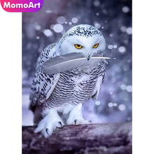 MomoArt Diamond Embroidery Animal Full Drill Diamond Painting Square Rhinestone Diamond Mosaic Pigeon Cross Stitch momoart diamond embroidery landscape full drill diamond painting square rhinestone diamond mosaic animal cross stitch