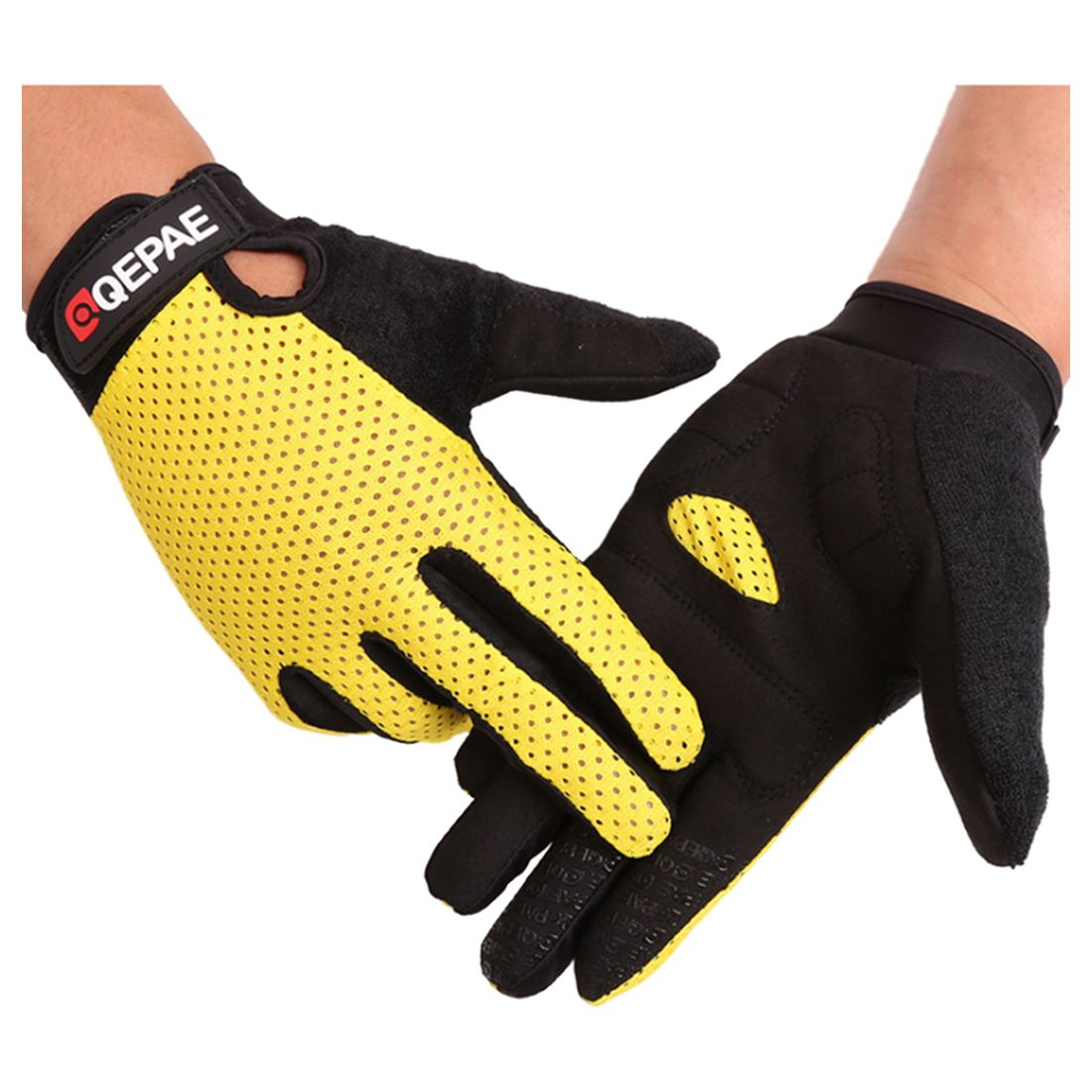 Bicycle long finger touch Summer fitness barbell riding outdoor full of breathable gloves fitness gloves thin spring summer outdoor sports fitness riding army fans fighting semi finger gloves