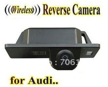 WIRELESS Специальный Автомобильная камера Заднего вида Обратный заднего вида резервного копирования парковочная Камера для AUDI A1 A4 (B8) A5 S5 Q5 TT/PASSAT 5D R36