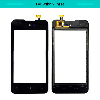 20pcs/lot Touch for Wiko Sunset Touch Screen Glass Digitizer Touch Panel Replacement Free Shipping