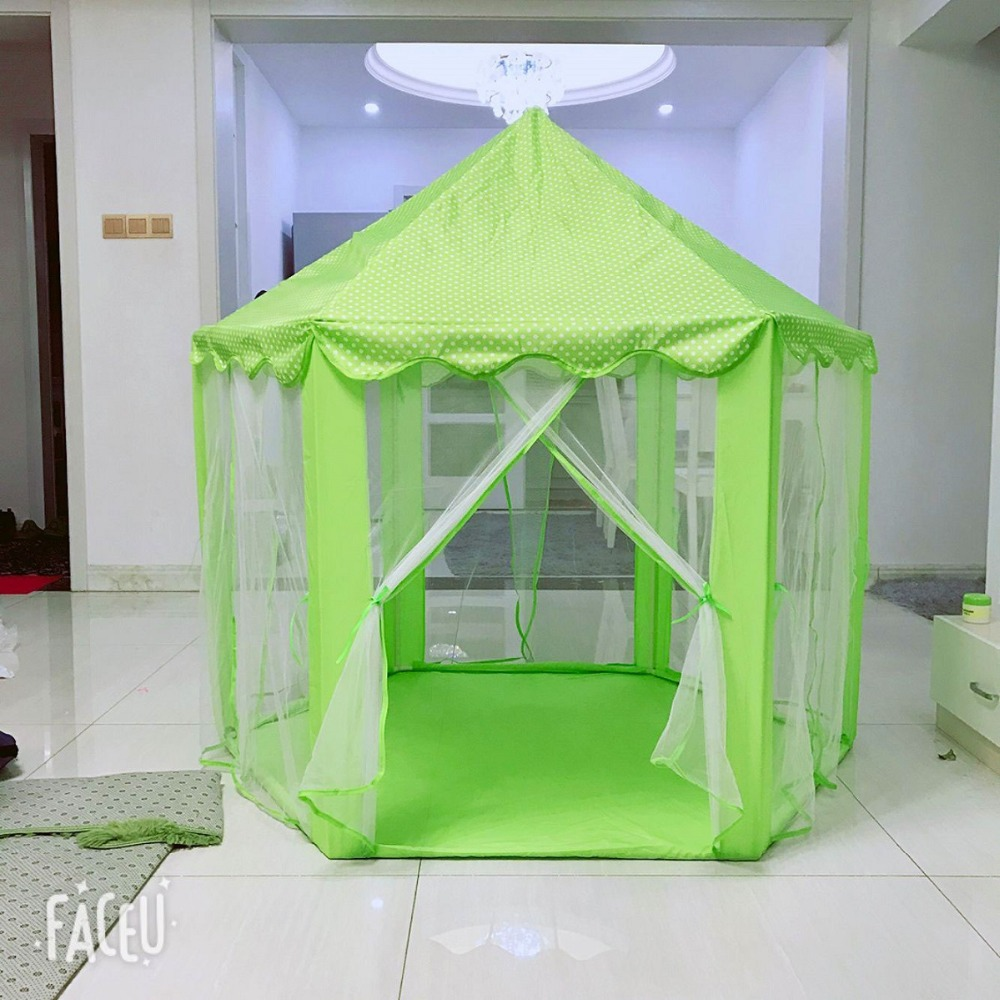 Play Tent for Kids Baby Ball Pool Tipi Tent Children Play House Boy Girl Princess Castle Indoor Outdoor Chidren Gifts beach tent (12)