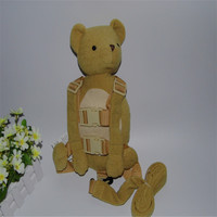 Bear Teddy Harness Buddy 2 in 1 Baby Backpacks safe Walking Reins for Children Aged from 1 to 3