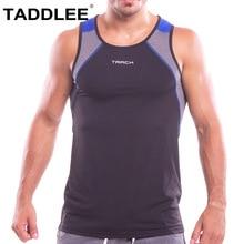 Taddlee Brand Men Bodybuilding Tank Top Stringer Fitness Singlet Vest Sport Running Tee Shirts Basketball Sleeveless GASP Muscle
