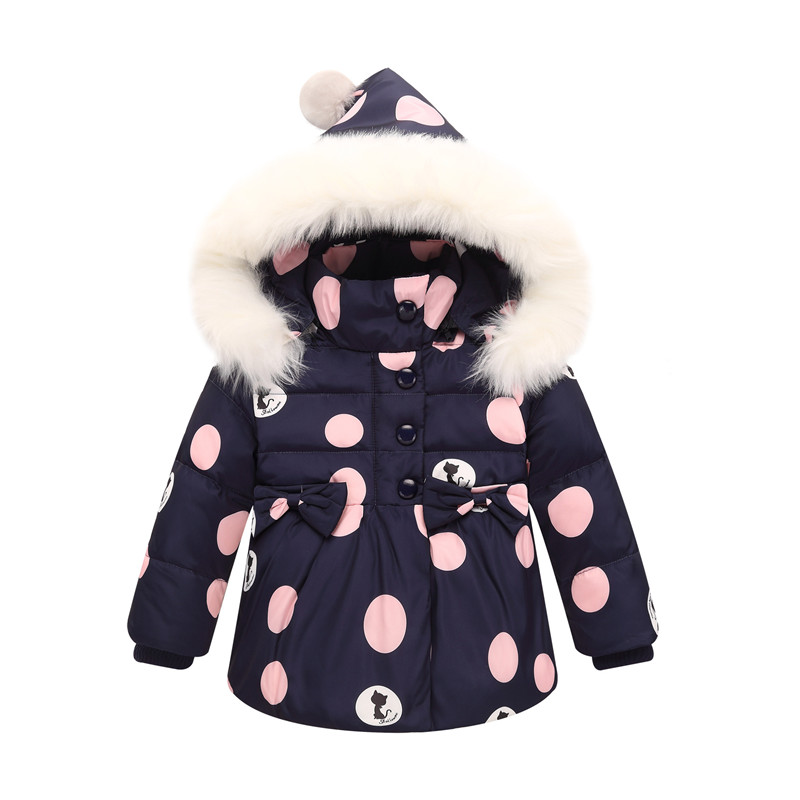 101412ce6 2018 New Winter Children Clothing Sets Girls Warm Parka Down Jacket ...