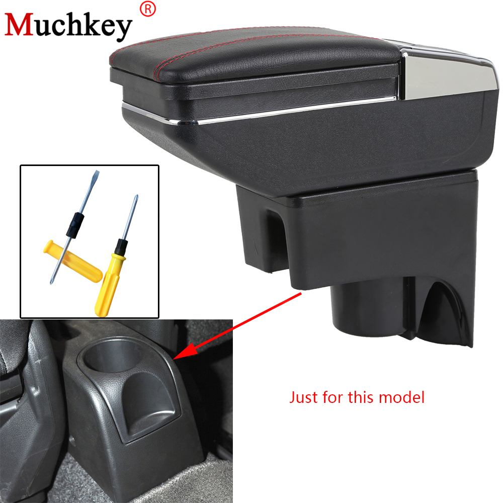 Armrest box For Nissan LIVINA 2007-2016 central Console Arm Store content box cup holder ashtray Interior Accessories Auto Parts universal leather car armrest central store content storage box with cup holder center console armrests free shipping