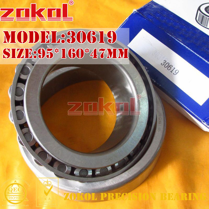 ZOKOL bearing 30619 7819E Tapered Roller Bearing 95*160*47mm 7819 7819yr sop16 7819yruz tssop16