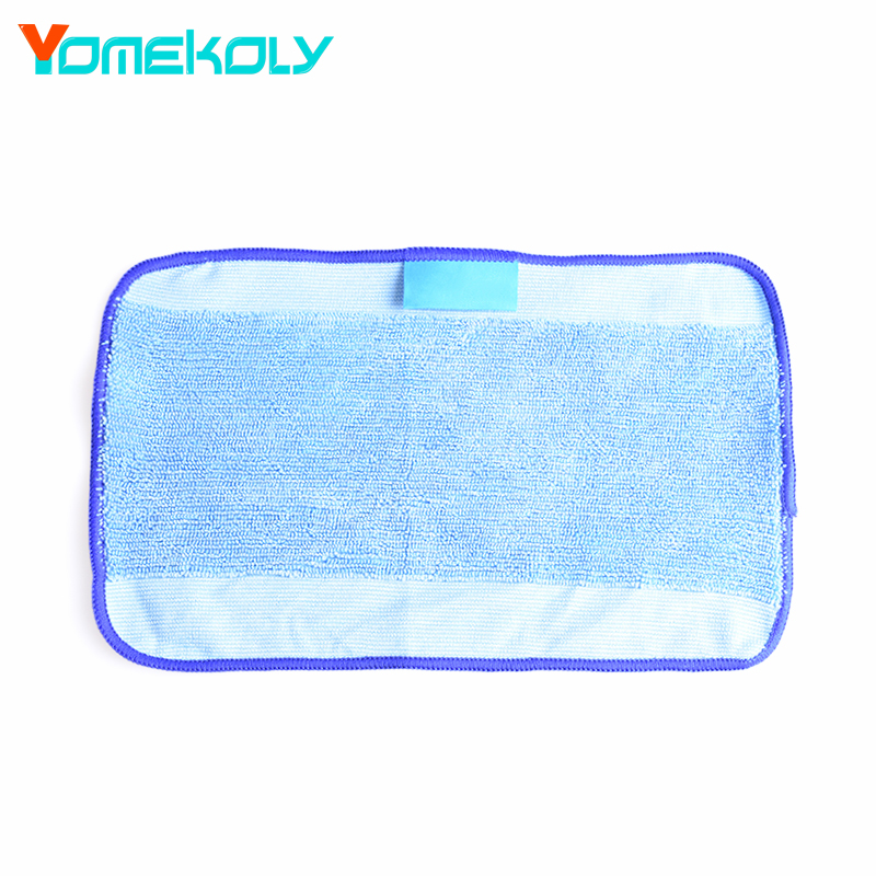 1PC Washable Reusable Replacement Microfiber Mopping Cloth For iRobot Braava 380t 320 Mint 4200 5200 Robotic 28.5X18cm new 3pcs deep clean blue microfiber replacement washable wet mopping pads for braava jet 240 cleaner