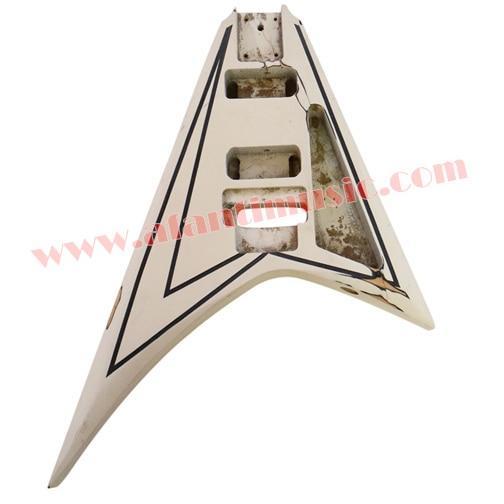 Afanti Music DIY guitar DIY Electric guitar body (ADK-138) afanti music acoustic guitar repair tools gtl 109