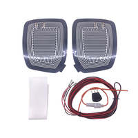 DC 12V Car Electric Mirror Glass Heated Pad Mat Defoggers Remove Frost Side Mirror Glass Heat