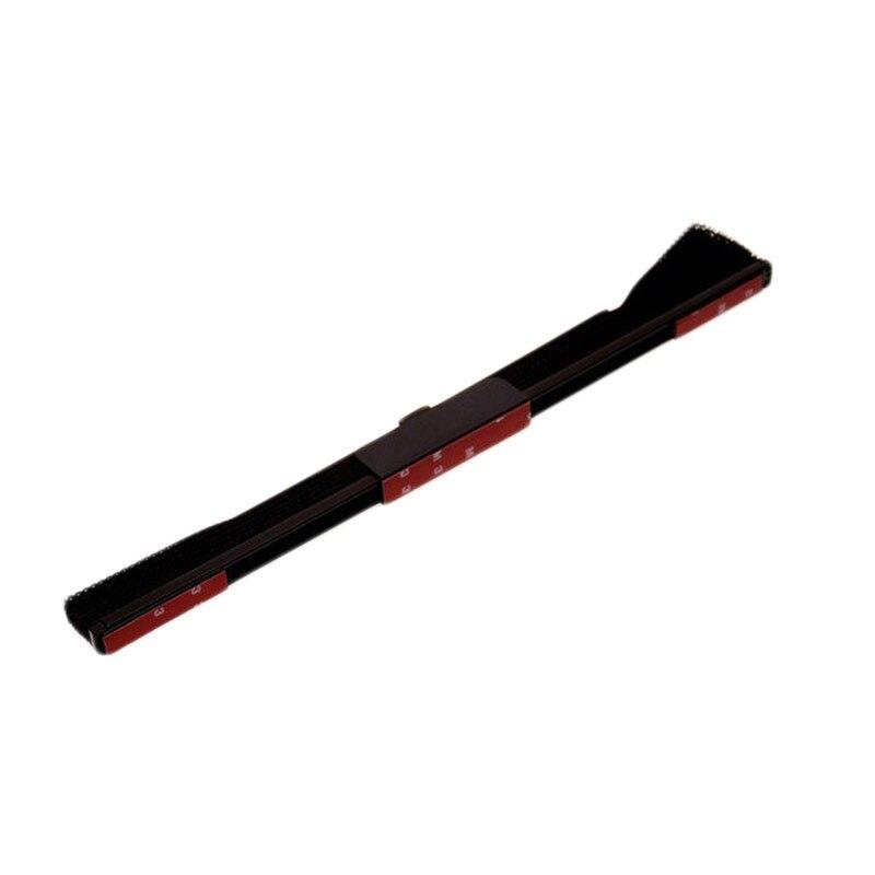 Выдвижная Автомобильная Солнцезащитная шторка, автомобильный солнцезащитный козырек, нейлоновая сетка, солнцезащитный козырек - Цвет: black