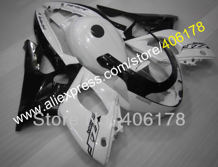 Hot Sales,97-07 YZF600R fairing For Yamaha Yzf 600r Thundercat 1997-2007 Black White Bodywork Fairings hot sales 97 07 yzf1000r abs fairing kit for yamaha yzf 1000 r thunderace 1997 2007 blue
