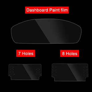 Image 5 - For Honda Accord 10th 2018 Car GPS Navigation Screen Steel Protective Film Dashboard Pain Protector Film Car Sticker Accessories