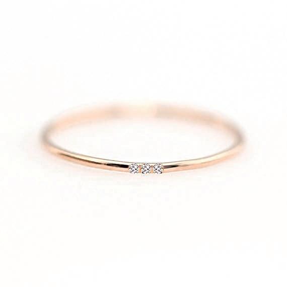 ZHOUYANG кольца для женщин с микро-вставками из кубического циркония тонкое кольцо на палец модное Ювелирное кольцо KCR101 - Цвет основного камня: RoseGold Color 109