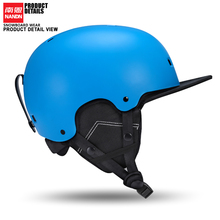 New NANDN Ski helmet Ultralight and Integrally-molded professional Snowboard helmet men Skating/Skateboard helmet Multi Color