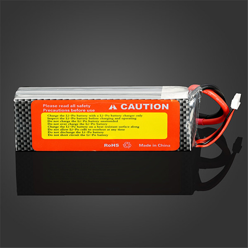 High Quality Rechargeable ZOP Power 4S 14.8V 4000MAH 30C Lipo Battery T Plug For RC Toys Models