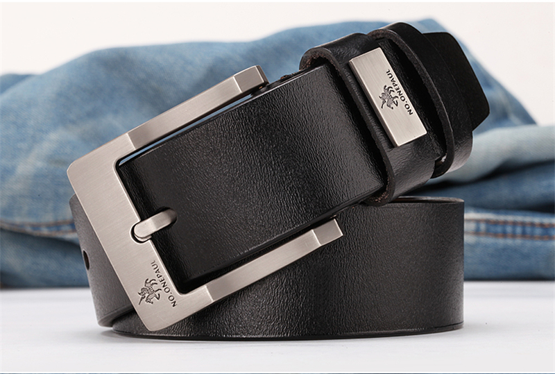 HTB1XboyadfvK1RjSspoq6zfNpXa1 - NO.ONEPAUL buckle men belt High Quality cow genuine leather luxury strap male belts for men new fashion classice vintage pin