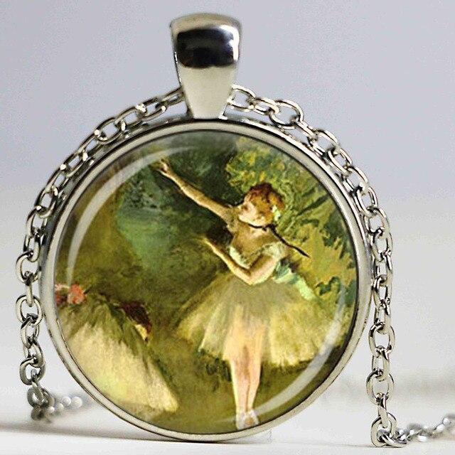 dcae274076 Nuovo ballerina pendente della collana, ballerina di danza gioielli, verde  balletto dance fashion jewelry
