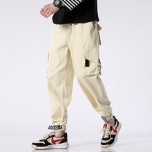 M-4XL 5XL 2019 Spring Track Pants Men Sweatpants Mens Joggers Cargo Camo Tactical Harem Trousers Military