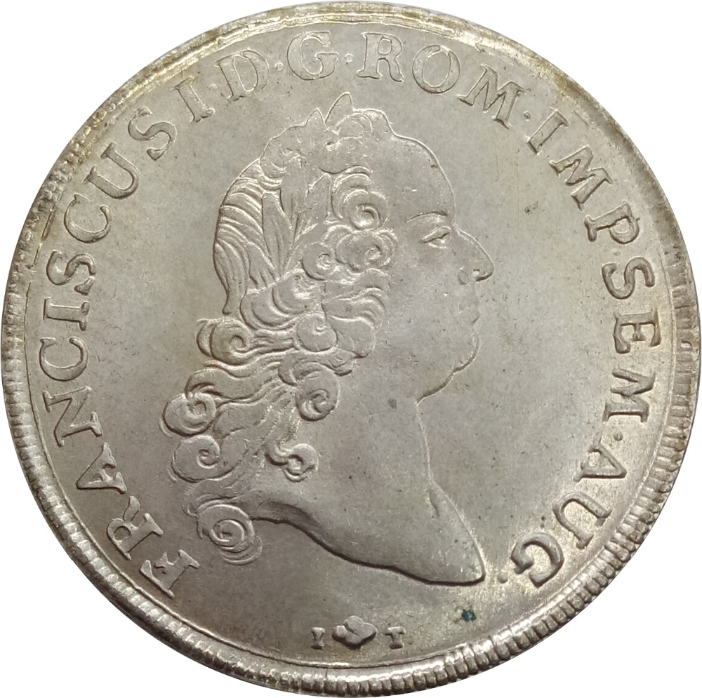 German States Free city of Augsburg 1 COnventionsthaler Franz I 90% Silver Copy CoinsGerman States Free city of Augsburg 1 COnventionsthaler Franz I 90% Silver Copy Coins