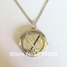 10pcs/lot Fashion silver charm Movie jewelry Attack on Titan Training corps anim