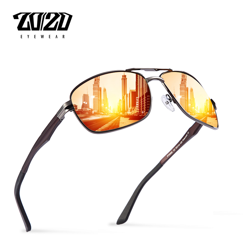 20 20 Design Da Marca New Alumínio Polarized Homens Óculos de Sol Óculos de Condução  Masculino óculos de Sol Óculos de Viagem Clássico Eyewear Gafas PT0882 a0db1c4295