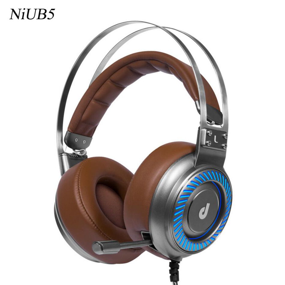 2016 New Arrival Gaming Headset 7.1 Surround Sound 4D Headset Gamer Headphones with USB In-line Control Microphone for Computer each g8200 gaming headphone 7 1 surround usb vibration game headset headband earphone with mic led light for fone pc gamer ps4