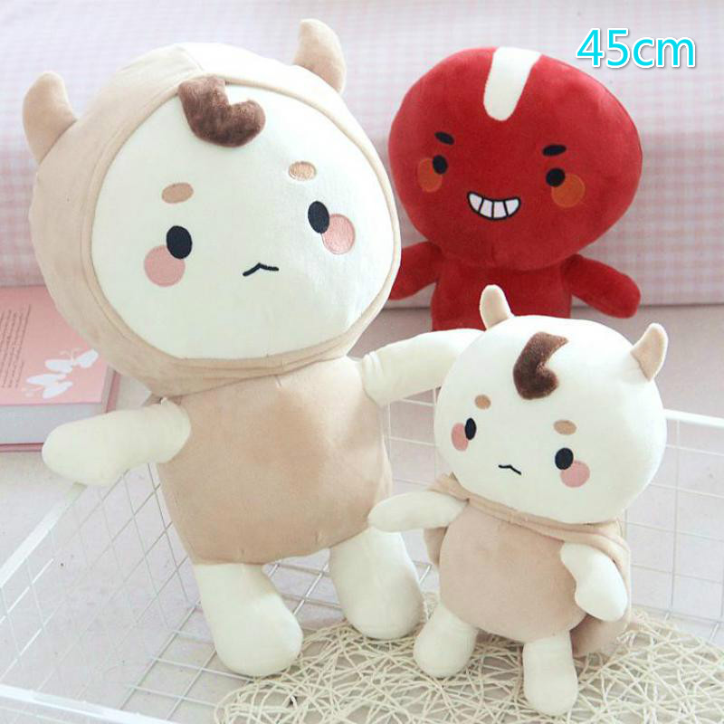 45cm Korea Dokkaebi God Alone And Brilliant Goblin 1pc Soft Doll Stuffed Plush Animal Toy Baby Girl Kids Lover Children Gift
