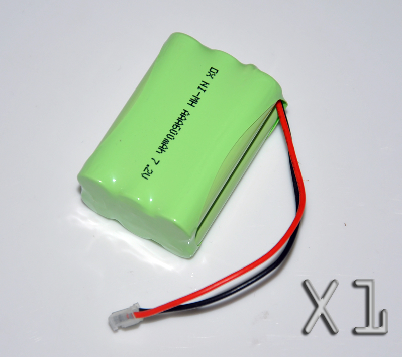 1PCS 7.2V AAA 600mah rechargeable battery pack 3A ni-mh nimh batteries NI MH cell for RC toys emergency light cordless phone B