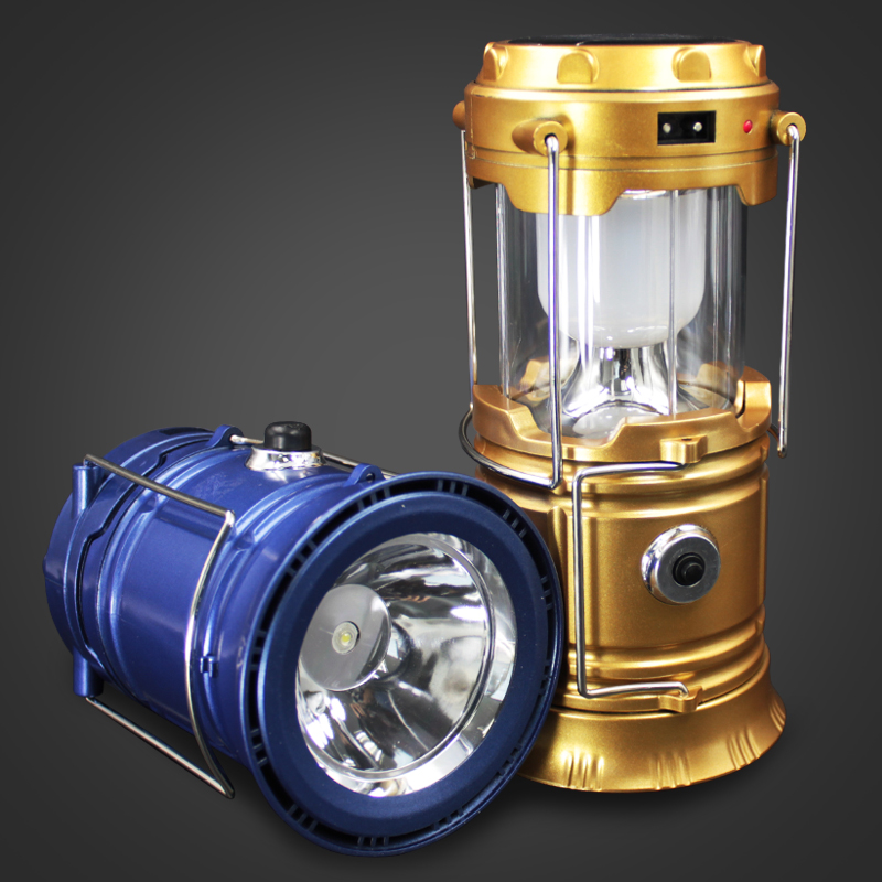 Led Clic Style Rechargeable Camping Light Portable Lantern Solar Emergency Outdoor Hiking Eu Plug Lamp In Lanterns From