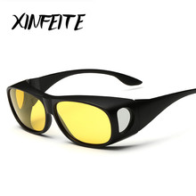 XINFEITE Night Vision Driving Polarized Sun Glasses 2017 New Men Brand Goggles Sun Glasses Male Fashion Oculos Sets Of Glasses
