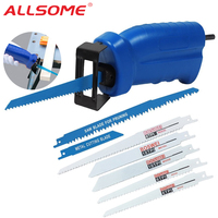Power Tool Accessories Household Reciprocating Saw Metal Cutting Wood Cutting Tools Electric Drill Attachment With 3 Blades