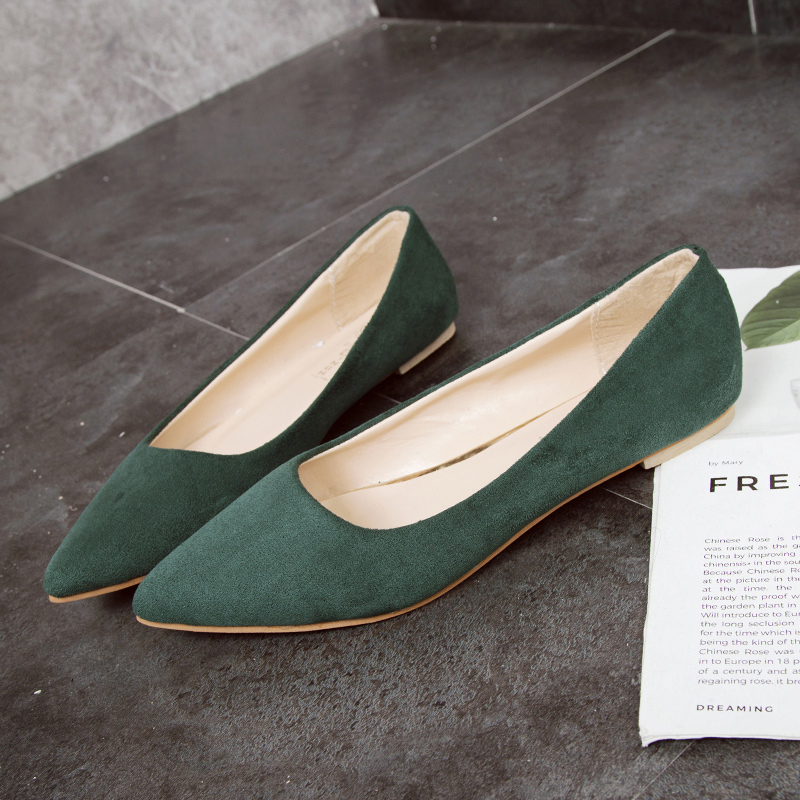 2019  Summer/Autumn Fashion Women Flats Slip on Shoes Candy Color Woman Boat Shoes  Ladies Shallow Ballet Flats Female Footwear