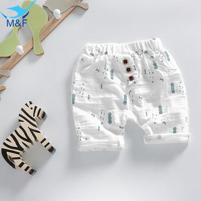 M & F Bebé Pantalones Loose Pantalones Infantiles Niños Usan Pantalones de Niño Sólidos 2016 de La Venta Caliente Para El Verano de Algodón Casual Pantalones de los niños
