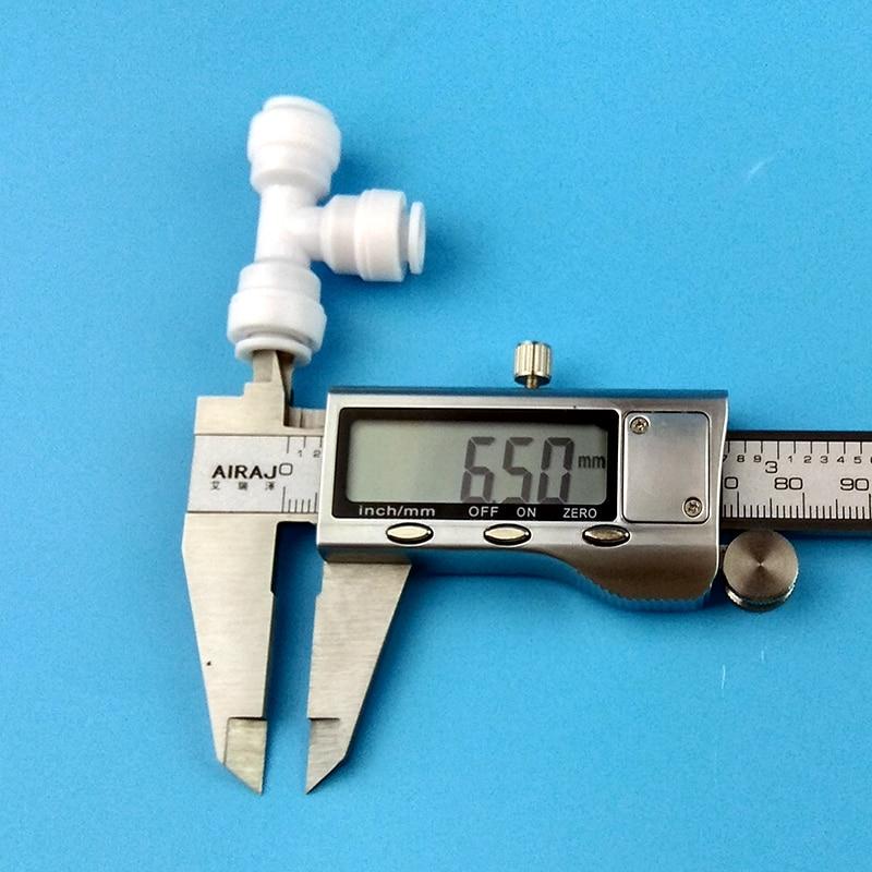 """Очиститель воды 1/4 дюймов быстрое соединение три отделения соединение мм до 6,5 """"1/4 мм Труба чистая вода машина три соединения быстрое"""