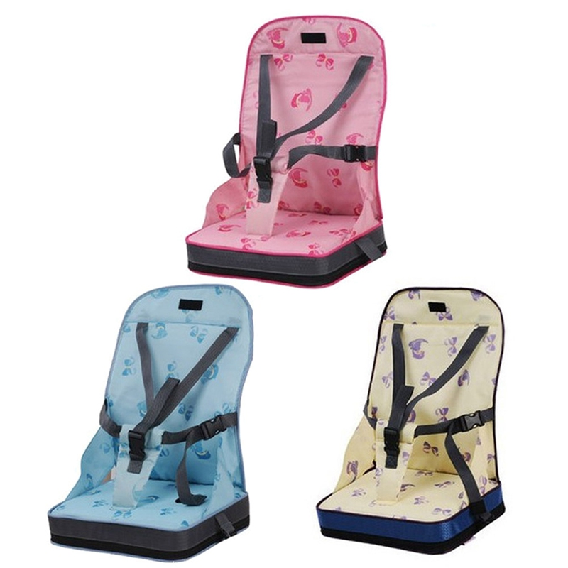 Portable Baby Chair Bag Foldable Infant Travel Booster Seat Bag Kids Feeding Safety Seat Newborns Nursing Dining High Chair