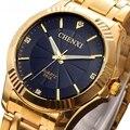2016 de Oro de La Moda Reloj de Los Hombres Relojes de Primeras Marcas de Lujo Famoso Reloj Hombre Reloj de Oro de Cuarzo Reloj de Pulsera Relogio masculino
